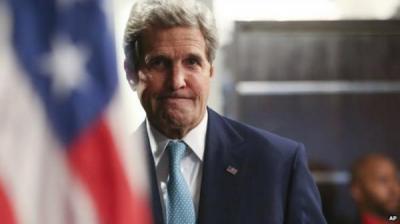 """مصادر غربية: السعوديون رفضوا """"رؤية"""" جون كيري بشأن اليمن"""