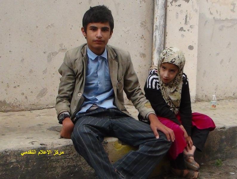 600 طفل معاق من عمران يعتصمون والحكومة تتجاهلهم